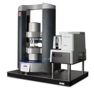 Kombinace Ramanova spektrometru iXR a rotačního reometru HAAKE MARS
