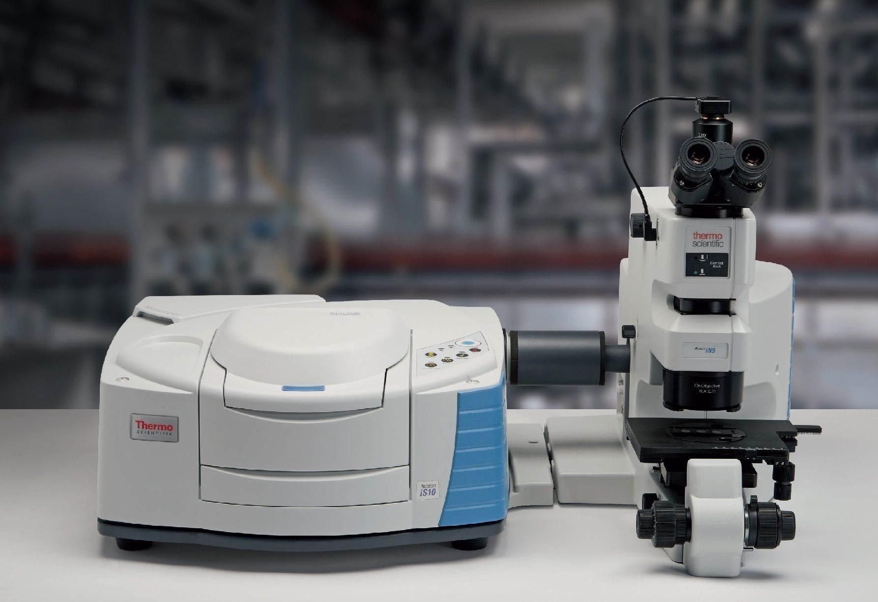 FT-IR mikroskop Nicolet iN5