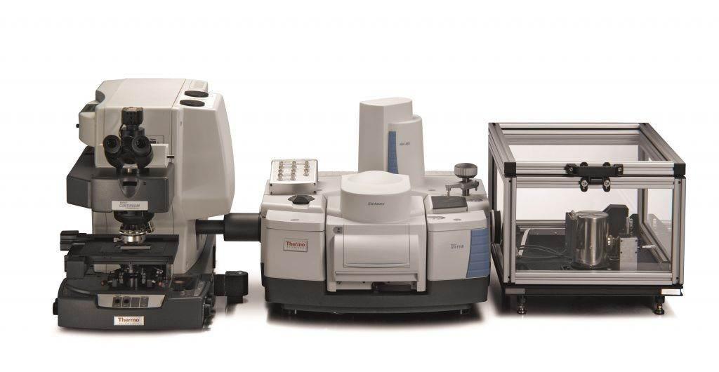 Spojení mikroskopu Continuum a FT-IR spektrometru Nicolet iS50